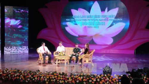 Outstanding followers of President Ho Chi Minh's example honoured