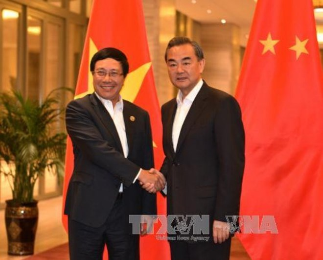 Vietnamese, Chinese foreign ministries boost cooperation