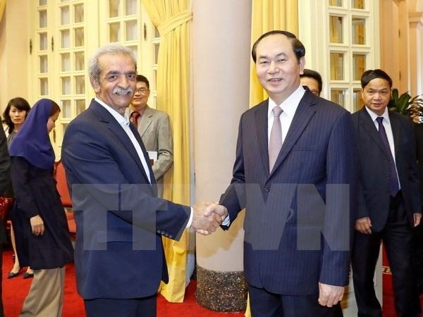 Vietnam, Iran vow support to achieve USD2 billion trade