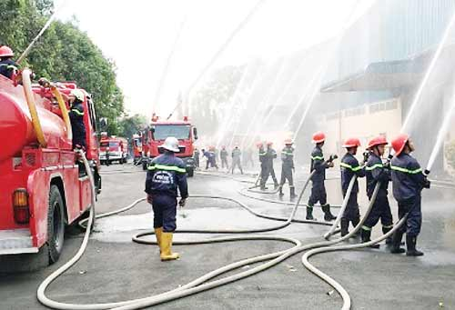 Number of fires in Ho Chi Minh city sharply reduced