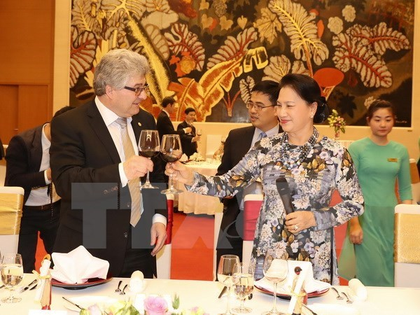 President of Swiss Council of States wraps up Vietnam visit