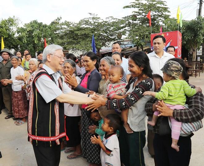 Party leader suggests economic focuses for Kon Tum province