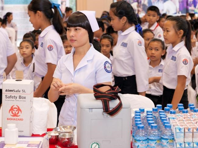 Laos to provide free health care for children