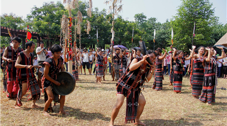 Activities at Vietnam National Villages for Ethnic Culture and Tourism in April