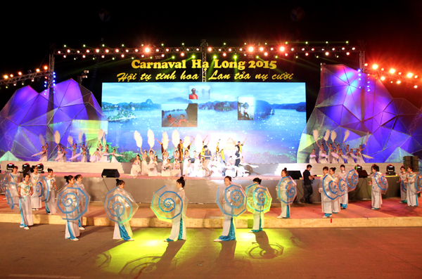 Carnaval festival suspended during Ha Long – Quang Ninh Tourism Week