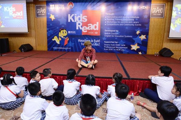 Kids Read landed at Ho Chi Minh city