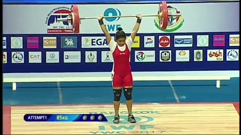 Lifter My wins bronze, Bao takes gold at world champs