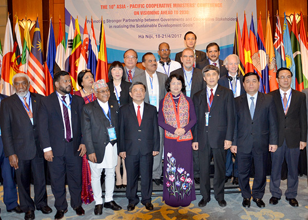 Asia-Pacific Cooperative Minister's Conference opens in Hanoi