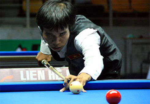 Quyet Chien crashes out of billiards World Cup