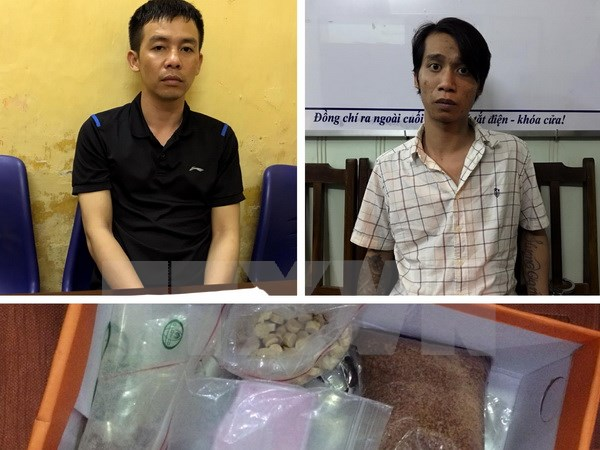Gang producing illicit drugs in Hai Phong city busted