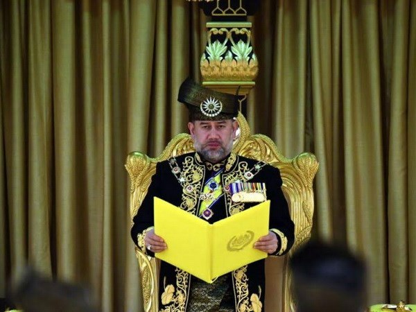 Sultan Muhammad V installed as 15th Malaysian king