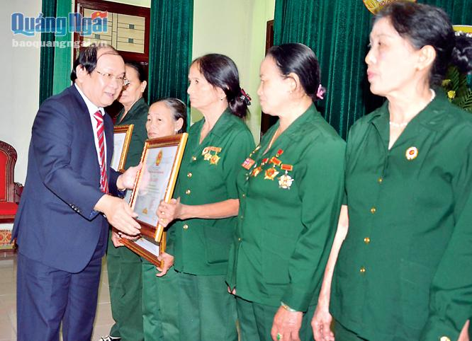 Typical models of Quang Ngai provincial Veteran Association