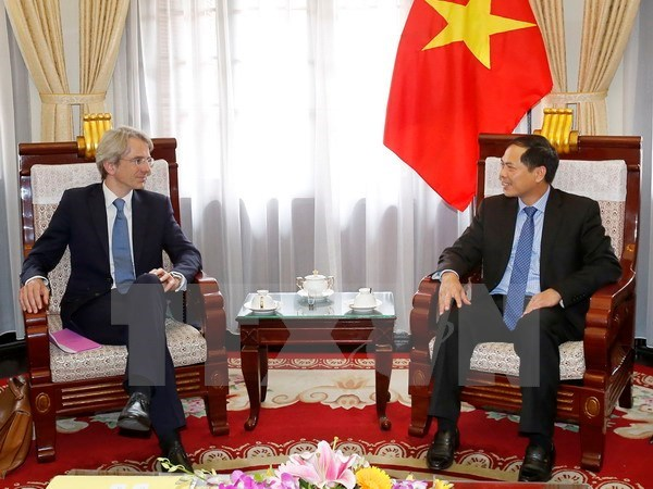 Deputy FM: Vietnam treasures relations with France