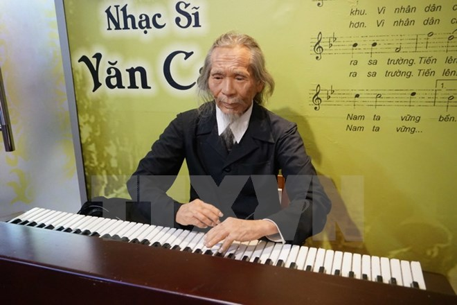 Wax statues of Vietnamese artists on show in Ho Chi Minh City