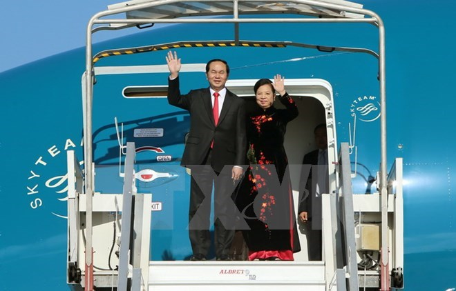 Vietnamese President's visit to China to strengthen Party, State relations