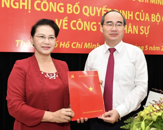 VFF President appointed Ho Chi Minh city Party Committee Secretary