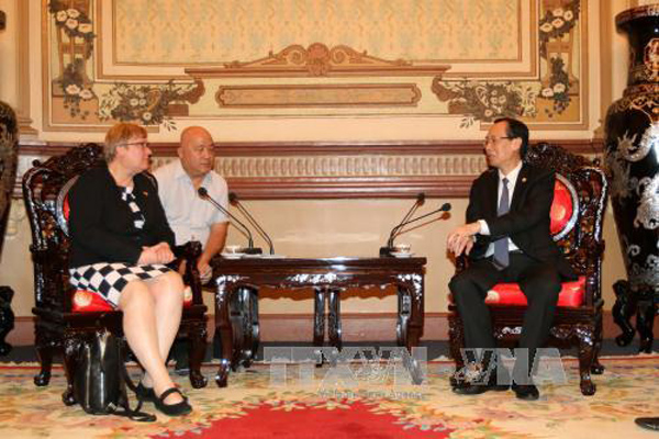 Ho Chi Minh city, Germany cooperate in high technology and energy