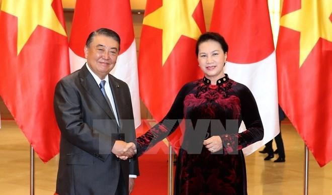 Japanese legislator wraps up Vietnam visit