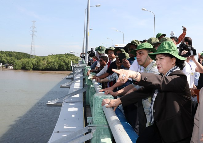 Regional legislators learn about climate change impacts in Ho Chi Minh City