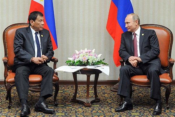 Philippines, Russia eye stronger defence links