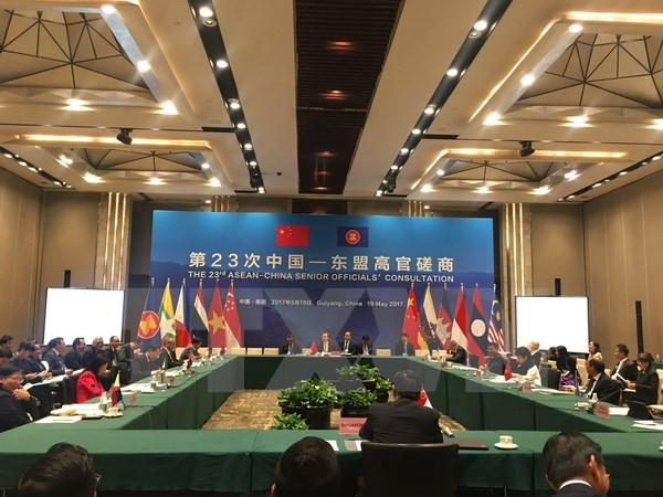 Vietnam attends 23rd ASEAN-China Senior Officials' Consultation