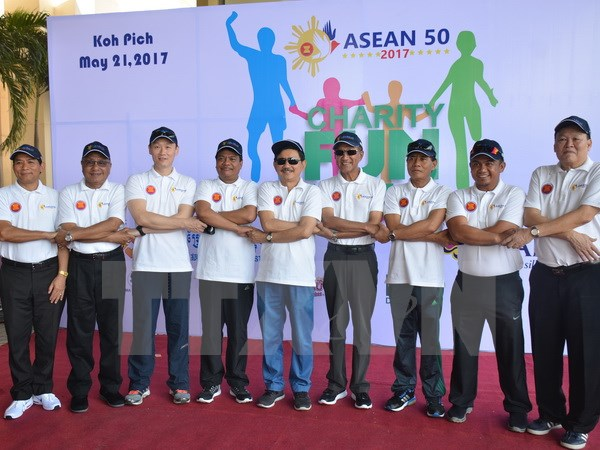 Vietnam co-hosts charity sports event in Cambodia