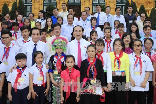 President urges better care for disadvantaged children
