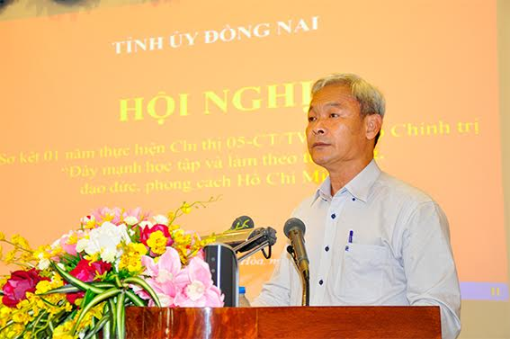 Dong Nai reviews implementation of Directive 05-CT/TW