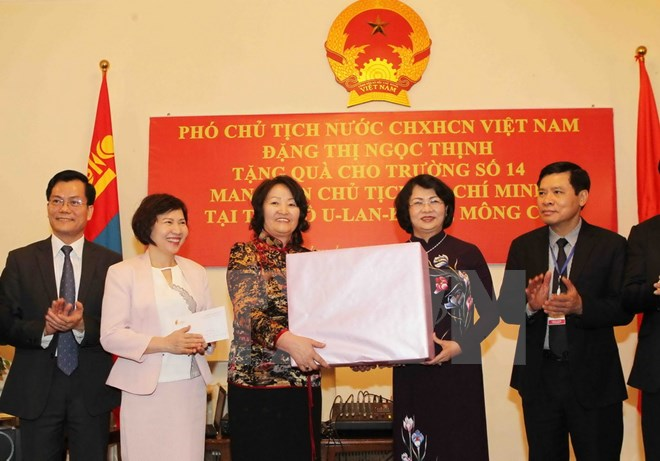 Vice President meets Mongolian supporting Vietnam