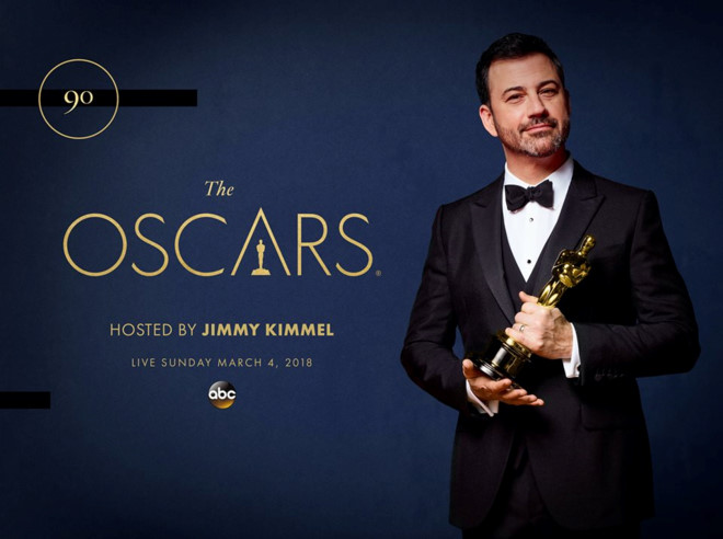 Jimmy Kimmel to host 90th Academy Awards