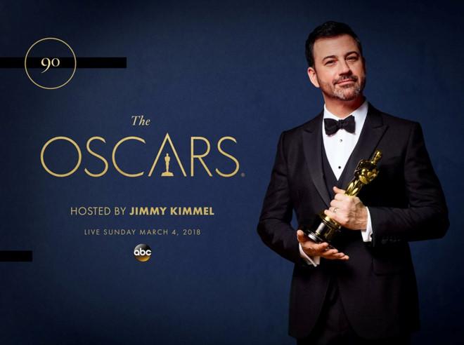 Jimmy Kimmel to host 90th Academy Awards