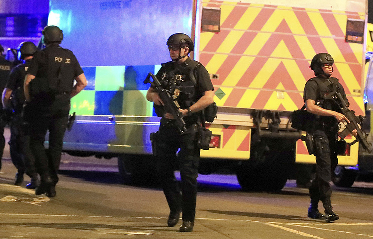 Blast at concert in England