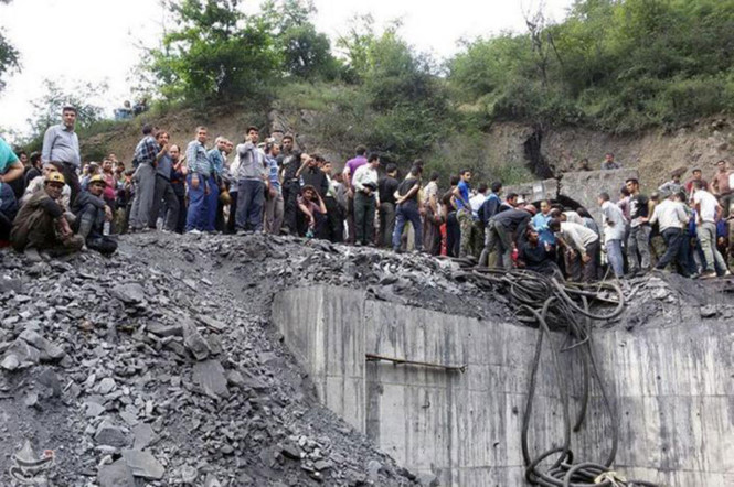 Iran coal mine explosion kills 35