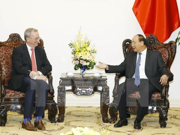 Prime Minister suggests Google open rep. office in Vietnam