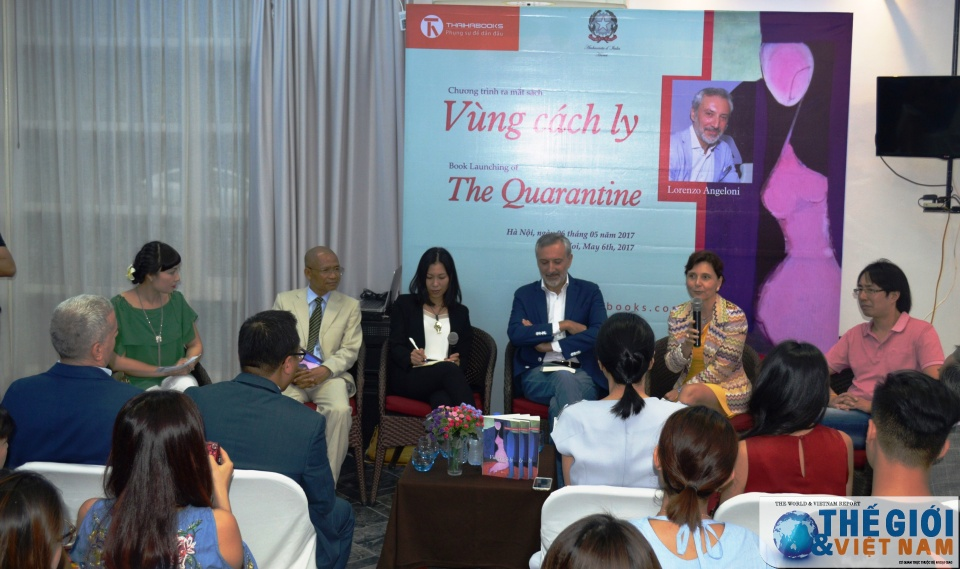 Former Italian Ambassador's novel introduced in Vietnam