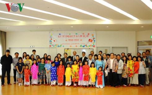 Reviewing Vietnamese teaching in Kobe, Japan
