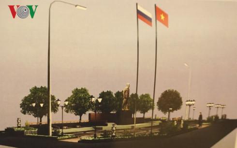 Uncle Ho's statue in Lenin's hometown - Ulianovsk