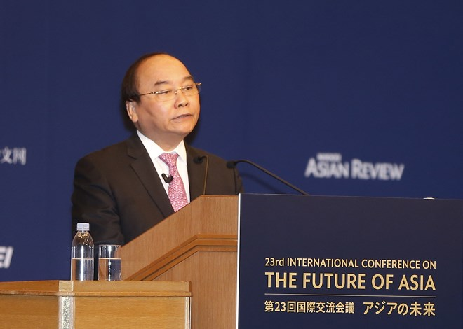 PM attends Int'l Conference on Asia's Future