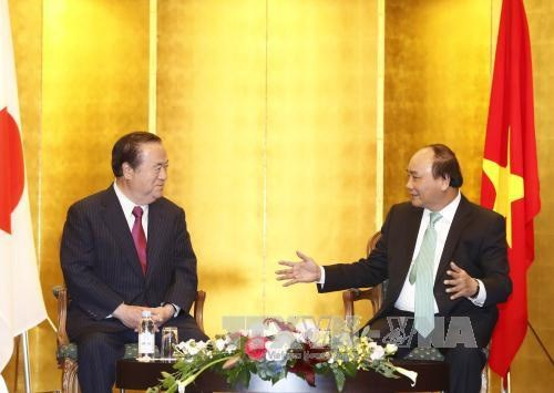 Prime Minister receives Japanese prefecture governor