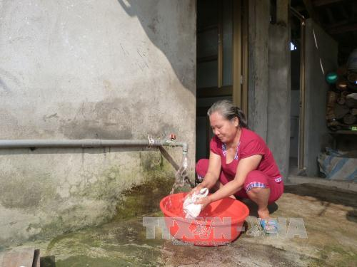 Safe water credit helps improve people's quality of life