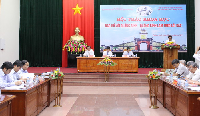 Uncle Ho's visit to Quang Binh marked