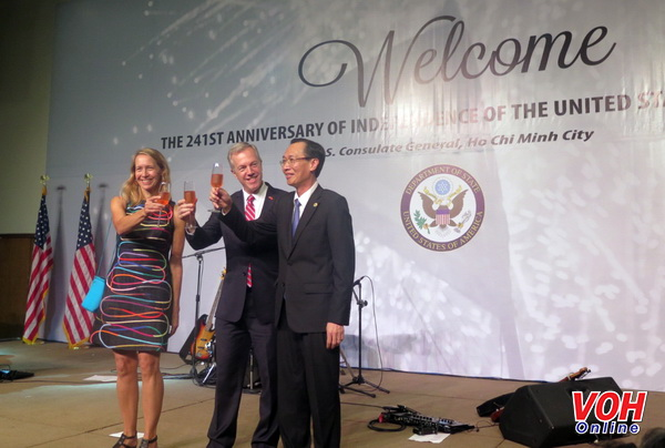 Ho Chi Minh city marks US National Day