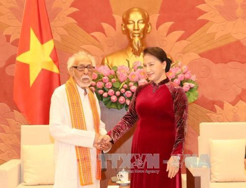 National Assembly leader highlights Vietnamese-Indian contact
