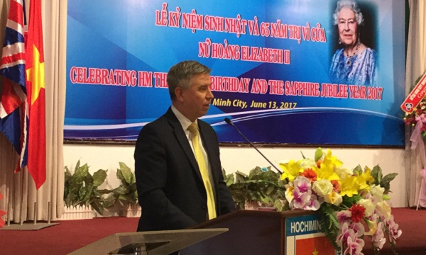 UK Queen's birthday celebrated in Ho Chi Minh city