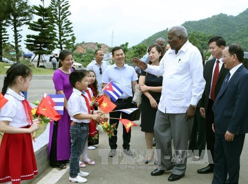 Cuban NA delegation pays working visit to northern province