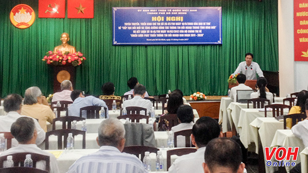 Ho Chi Minh city increases rejection information of distorted arguments