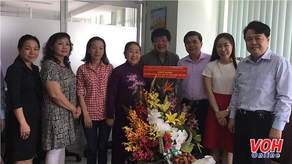 Ho Chi Minh city congratulates press agencies