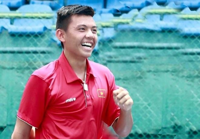 Ly Hoang Nam placed second in Singapore tennis event