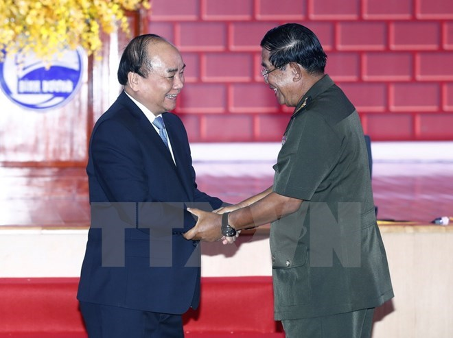 Cambodian PM thanks for Vietnam's help in ending Pol Pot regime