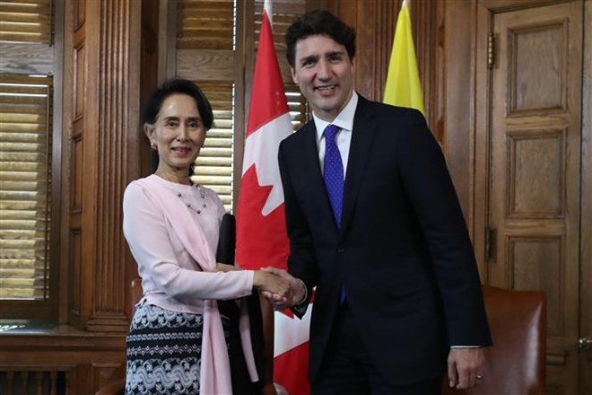 Canada helps Myanmar in climate change adaptation, social development